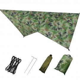 Outdoor přístřešek, pro hamaky, camping, survival, bushcraft, 230x140cm /Poštovné ZDARMA!