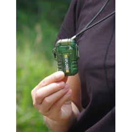 Outdoor Camping Větru a voděodolný USB Plasma zapalovač /Poštovné ZDARMA!