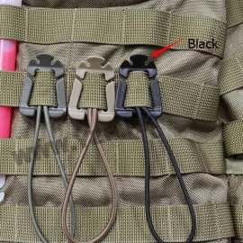 Karabína pre uchytenie predmetov na batoh outdoor camping / Poštovné ZADARMO!