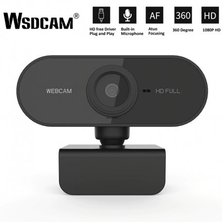 Webcam webcam HD 1080P CMOS, microphone, AF, PnP / FREE shipping!