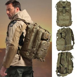 Outdoor military backpack 1000D Nylon 30L, waterproof tactical / FREE shipping!