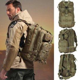 Outdoor vojenský batoh 1000D Nylon 30L, vodeodolný taktický / Poštovné ZADARMO!