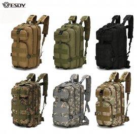 Outdoor vojenský batoh 1000D Nylon 30L, kufrové otváranie, vodeodolný, taktický / Poštovné ZADARMO!