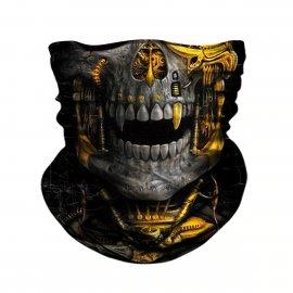 3D Moto maska na tvár, Balaclava, vetruodolná, Anti UV / Poštovné ZADARMO!