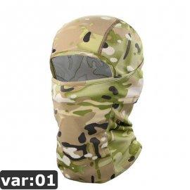 Termo Moto maska Balaclava, větruodolná, Anti UV /Poštovné ZDARMA!