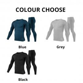 Sada kvalitné termoprádlo, rýchloschnúci, elastické, vetruodolné polyester / fleece / Poštovné ZADARMO!