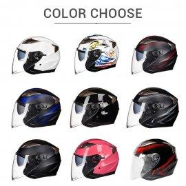 GXT otevřená helma na motorku, helma na skutr, sluneční clona, rychlopřezka /Poštovné ZDARMA!