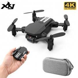 XKJ 2020 Mini dron 4K kamera, Wifi, obraz v reálnom čase, FPV, skladacie RC / Poštovné ZADARMO!