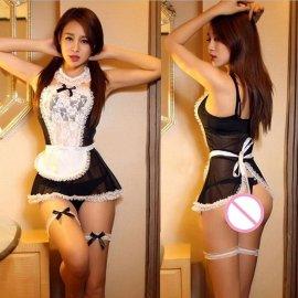 Sexy maid costume, servant costume
