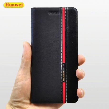 Pouzdro pro Huawei P9 lite, flip, stojánek, peněženka, PU kůže