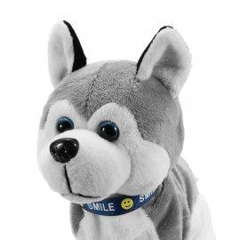 Robotický plyšový pes, reaguje na povely a dotyk / Poštovné ZADARMO!