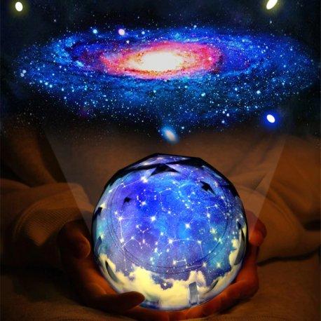 3D galaxy wonderful night light, touch sensor, DO, 16 modes, USB charging / FREE shipping!
