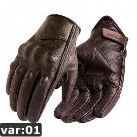 Moto rukavice PU koža / Poštovné ZADARMO!