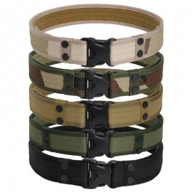 Military Tactical Belt 130cm adjustable length, 9 colors, outdoor, camping / FREE Shipping!