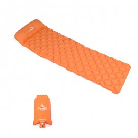 Widesea lightweight collapsible inflatable mat for camping / FREE Shipping!