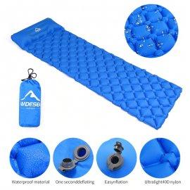 Ultralkehká vododěsná sbalitelná nafukovací karimatka Widesea pro camping /Poštovné ZDARMA!