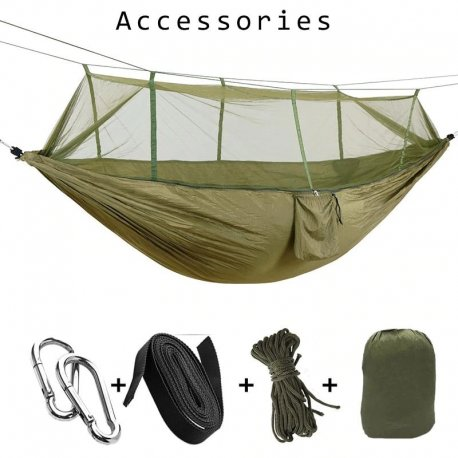 Hamaka with mosquito net for 1-2 people / FREE shipping!