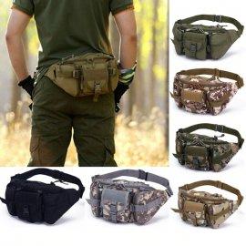 Kvalitní Taktická vojenská ledvinka, outdoor camping /Poštovné ZDARMA!