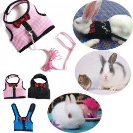 Postroj s vodítkem pro králíky /Poštovné ZDARMA!