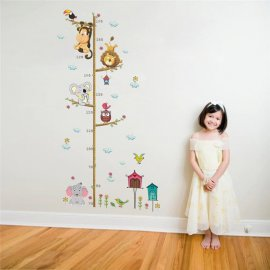 Samolepiace meter na stenu, dekorácie pre detské izby / Poštovné ZADARMO!