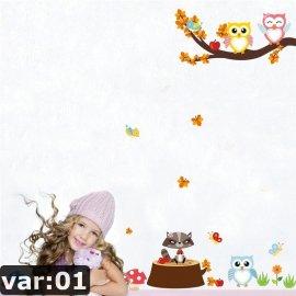 Samolepící dekorace pro dětské pokoje /Poštovné ZDARMA!