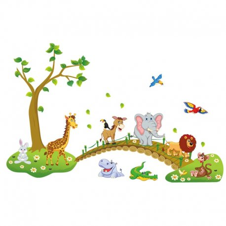 Self-adhesive decoration for children's rooms / FREE shipping!