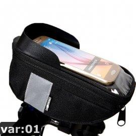 Pouzdro na řidítka Roswheel Sahoo 112003, voděodolné, kapsička na telefon, uchycení na řidítka