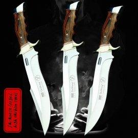 Lovecký nôž U.S. SA78 31cm + puzdro, drevená rukoväť, veľmi ostrý / Poštovné ZADARMO!