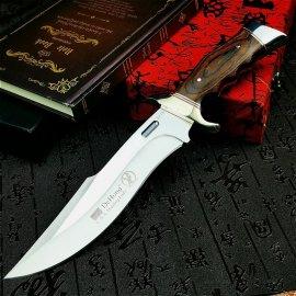 Lovecký nůž U.S.A SA78 31cm + pouzdro, dřevěná rukojeť, velmi ostrý /Poštovné ZDARMA!