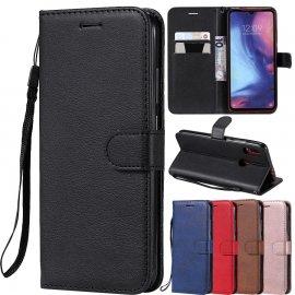 Puzdro pre Huawei P40 P30 P20 Pro P10 P9 P8 Lite 2017 P Smart 2019 Y5 Y6 Y7 Prime Y9 , PU kože, flip, stojan, peňaženka