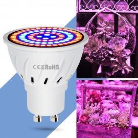 LED svetlo pre rast rastlín E27 E14 GU10 MR16 220V 60 LED / Poštovné ZADARMO!