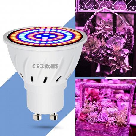 LED svetlo pre rast rastlín E27 E14 GU10 MR16 / Poštovné ZADARMO!