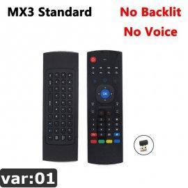 MX3 2.4Ghz bezdrátový ovladač Wireless Mini pro Smart TV Android TV box mini PC HTPC