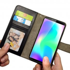 Case for Cubot X19 X 19, flip, stand, wallet, magnet, PU leather