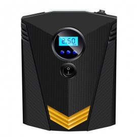 12V digitální Auto kompresor 120W 150 PSI, LED světlo /Poštovné ZDARMA!