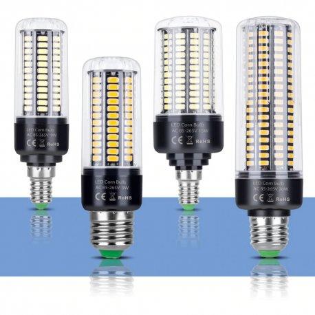 E14 E27 LED bulb 28-189LED 3.5-20W 85-265V / FREE Shipping!