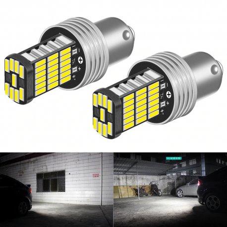 2pcs Car LED bulb P21W 1156 BA15S 12V DC / FREE Shipping!