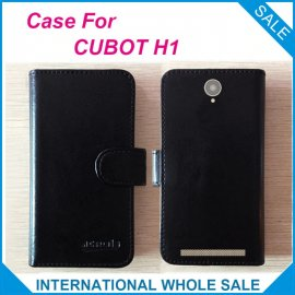 Case for CUBOT H1, flip, stand, PU leather