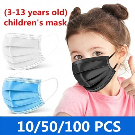 3 layer surgical drape 10-50-100pcs for children 3-13 years / FREE shipping!