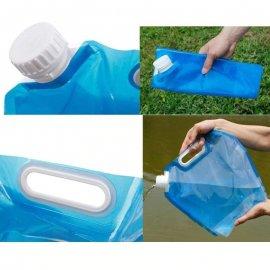 Skladací vak na pitnou vodu 5L 10L, nádoba na vodu, BPA free, camping outdoor /Poštovné ZDARMA!