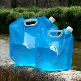 Folding drinking water bag 5L 10L, water container, BPA free, camping outdoor / FREE Shipping!
