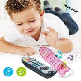 Detský diaľkový TV ovládač s mnohými melódiami a zvuky!