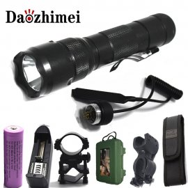 Tactical LED Flashlight WF 502B 5 Mod Cree XM-LT6 L2 2000 Lm / FREE Shipping!