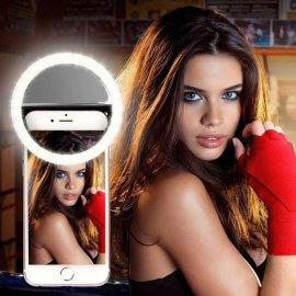 Selfie LED svetlo pre mobily, nabíjacie 36LED, 3 úrovne / Poštovné ZADARMO!
