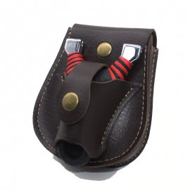 Slingshot and ball case, PU leather / FREE Shipping!