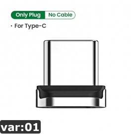 Magnetický nabíjecí kabel UGREEN QC3.0 USB Typ C i Micro USB, Data, Nylon, LED indikace /Poštovné ZDARMA!