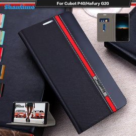 Case for Cubot P40, flip, stand, wallet, magnet, PU leather