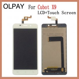 LCD screen for CUBOT X9 LCD + touch screen digitizer + frame