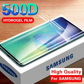 Hydrogel film for Samsung S10 S20 S21 S9 S8 Plus Note 8 9 S10e Protective Film For A50 A10 A01 A71 A70 A51