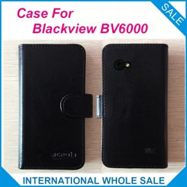 """Puzdro pre iget BLACKVIEW BV6000 BV6000s 4.7 """", flip, peňaženka, PU kože"""